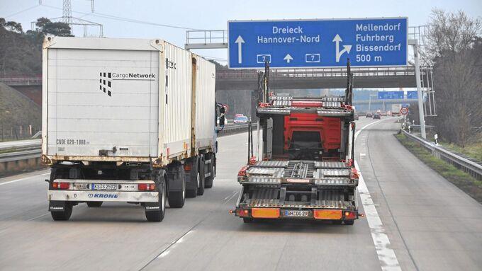 Niedersachsen, Sondergebühren, Schwerlast, Lkw