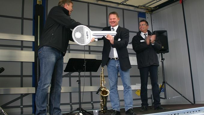 PacLease Einweihung Dortmund