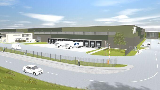 Perfekter Standort, Logistikpark, Vaihingen, Greenfield, Deutsche Lagerhaus, DSV