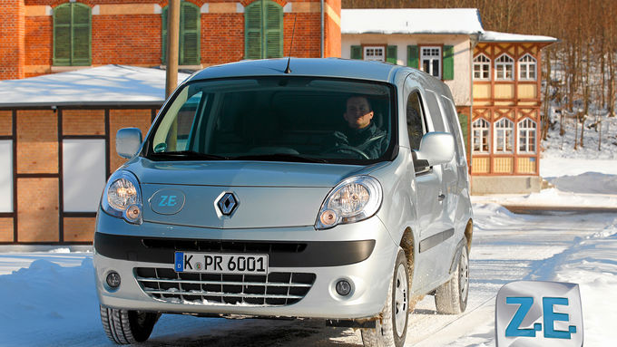 renault kangoo rapid maxi z e wintererprobung. Black Bedroom Furniture Sets. Home Design Ideas
