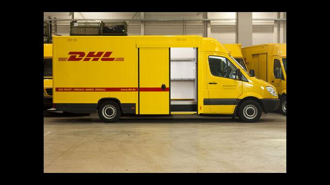 fahrzeuge saxas liefert dhl aufbauten eurotransport. Black Bedroom Furniture Sets. Home Design Ideas