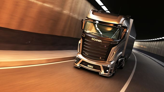 Scania Design-Studie, R 1000