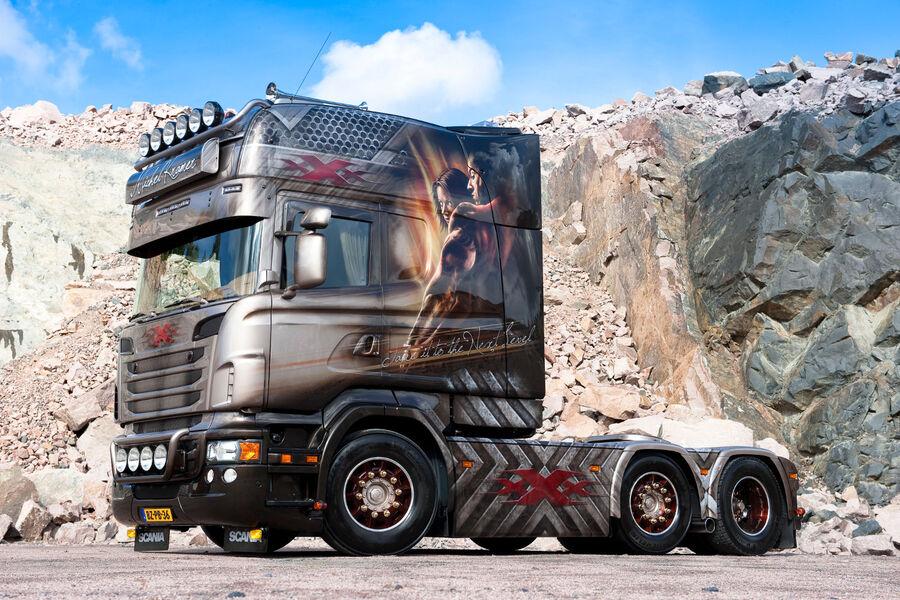 Neuer Scania Der Hauber Kehrt Zur 252 Ck Eurotransport