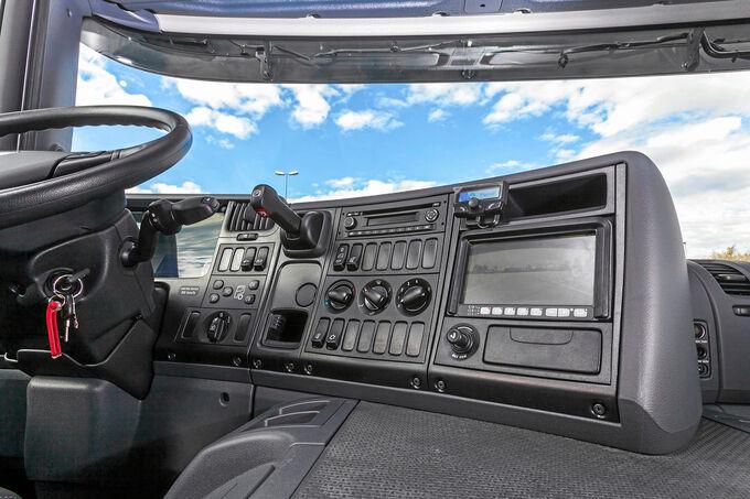 Scania P280, Opticruise-Bedienung