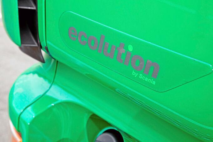 Scania R500 Ecolution, Schriftzug