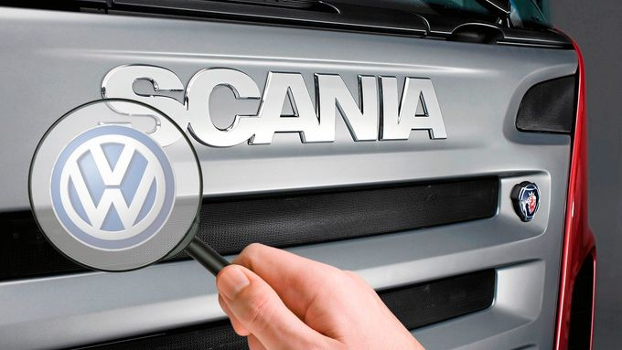 Scania, VW, Lupe, Montage