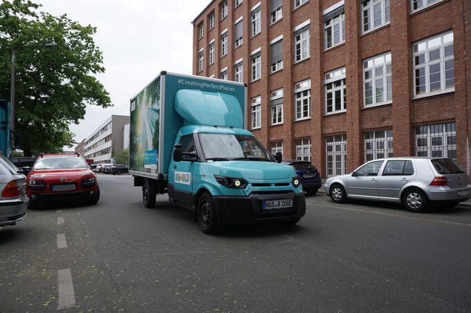Streetscooter mit Bezold-Aufbau