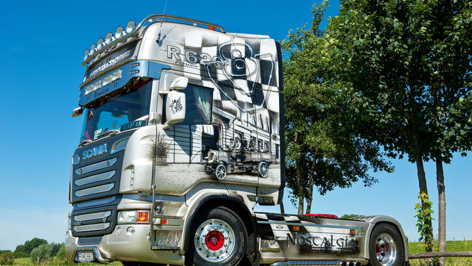 Supertruck Scania Nostalgia