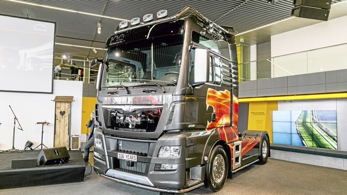 Supertruck ab Werk