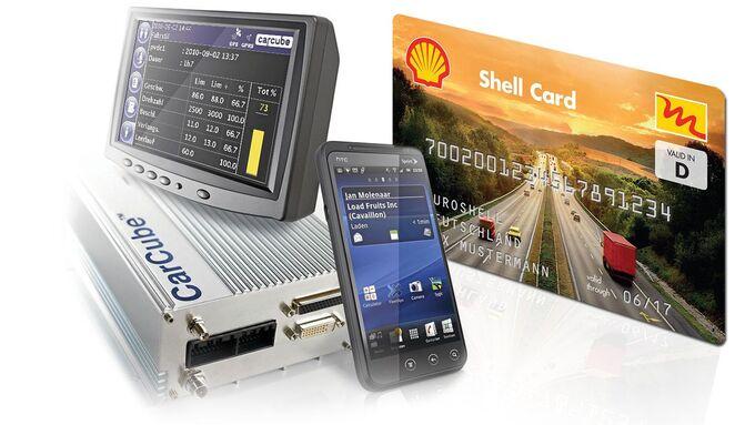 Trimble, Shell, Kooperation, Telematik