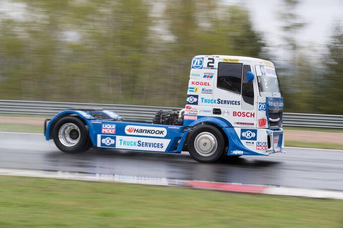 Truck Race 2018 Testfahrten in Most