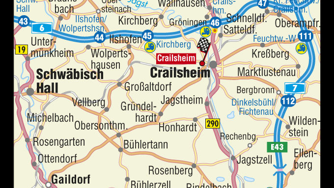 Truck Trial Gelände in Crailsheim