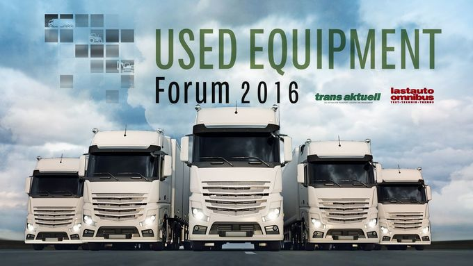 Used Equipment Forum 2016