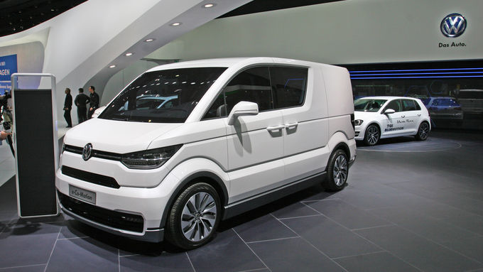 VW e-Co-Motion, Stupsnase