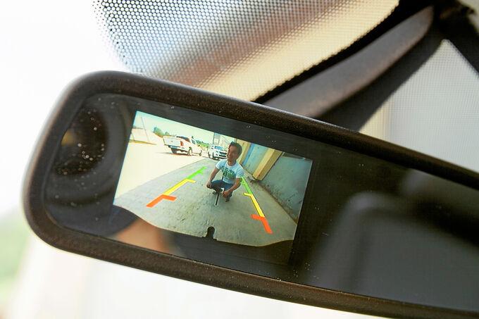 Vergleichstest, Ford Ranger, Rückfahrkamera