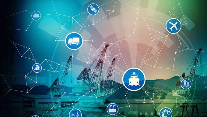 Vernetzung, Rotterdam, Hafen Rotterdam, IBM