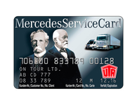 Mercedes Service Card