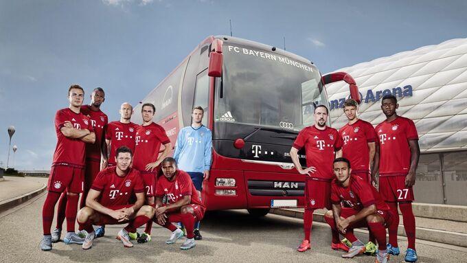mannschaftsbus, man, fußball, eishockey, handball