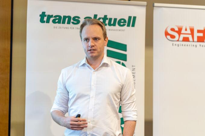 trans aktuell-Symposium, Zufall logistics group, Göttingen, Etablierte treffen Start-ups